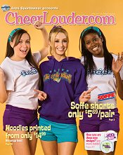 Picture of cheer accessories from Cheerlouder.com catalog