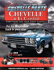 Picture of Chevelle restoration parts from Bob's Chevelle catalog