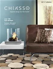 Picture of modern home accessories from Chiasso catalog