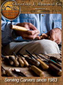 Picture of wood carving patterns from Hummul Co catalog
