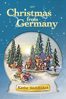 Picture of kathe wohlfahrt catalog from Christmas from Germany catalog