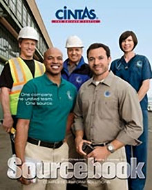 Picture of uniforms and scrubs from  Cintas catalog