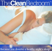 Picture of organic bedding from The Clean Bedroom catalog