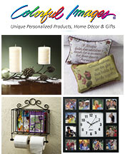 Image of decorative home ideas from Colorful Images catalog