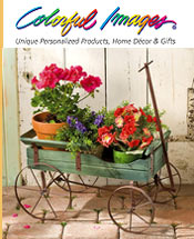 Image of decorative garden accents from Colorful Images catalog