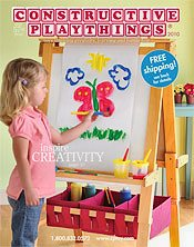 Picture of early childhood toys from Constructive Playthings Parent/Family Catalog catalog