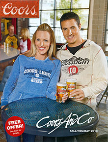 Picture of beer hat from Coors and Company catalog