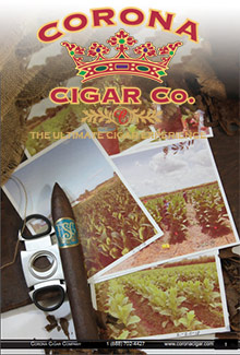 Picture of Montecristo cigars from Corona Cigar Company catalog