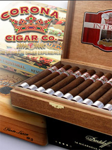 Picture of Montecristo cigars from Corona Cigar catalog