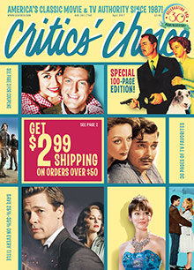 Picture of critics choice video catalog from CCVideo catalog