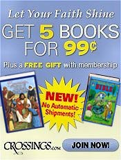 Image of picture books for children from Crossings catalog