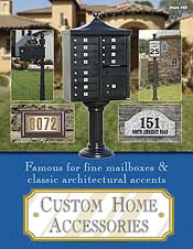 Custom Home - Mailboxes & Address Plaques