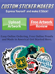 Picture of custom sticker maker from Custom Sticker Makers catalog