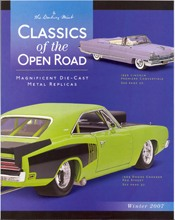 Picture of diecast cars from Danbury Mint - DieCast Replicas catalog