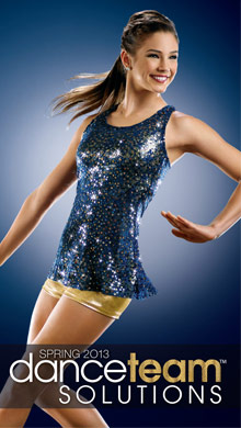 Picture of dance costume catalog from Dance Team catalog