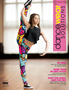 Picture of girls tights from Dancewear Solutions catalog