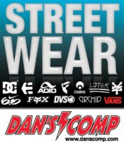 Image of bmx skate streetwear from Dan's Comp catalog