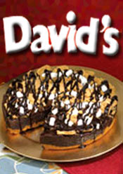Image of cookie cakes from David's Cookies catalog