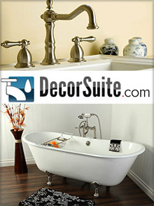 Picture of vintage tub and bath from Decor Suite catalog