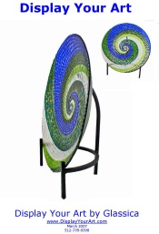 Picture of display pedestals from DisplayYourArt.com catalog