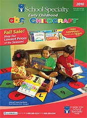 Picture of early childhood education resources from Early Childhood by School Specialty catalog