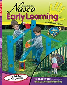 Picture of pre k activities from Early Learning Classroom Supplies by Nasco catalog