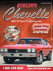 Picture of chevelle seats from Eckler's Chevelle  catalog