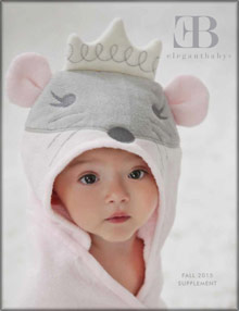 Picture of elegant baby from  Elegant Baby catalog
