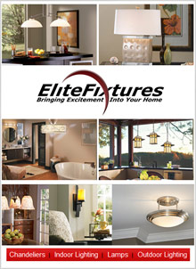 Picture of unique light fixtures from EliteFixtures.com catalog