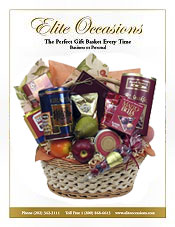 Image of get well soon baskets from Elite Occasions Gift Baskets catalog