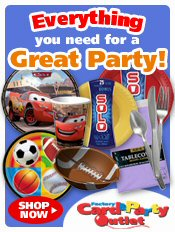 Picture of Christian party supplies from Factory Card & Party Outlet catalog