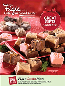 Picture of Figis catalog from Figi's Gifts in Good Taste® catalog