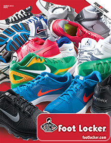 Picture of Foot Locker shoes from FootLocker catalog