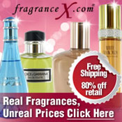 Picture of discount women's fragrances from FragranceX catalog