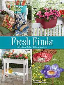 Picture of kitchen essentials from Fresh Finds catalog