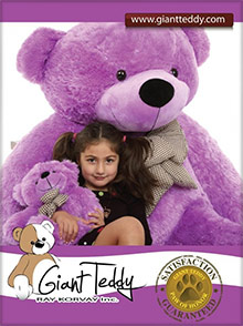Picture of giant teddy bear from Giant Teddy catalog