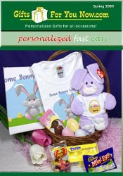 Image of gifts for easter from GiftsForYouNow.com catalog