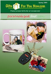 Image of photo personalized gifts from GiftsForYouNow.com catalog