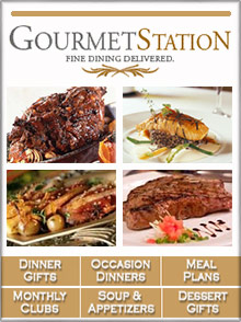 Picture of gourmet food gifts from GourmetStation catalog
