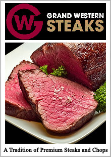 Picture of grand western steaks from Grand Western Steaks catalog
