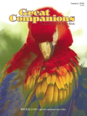 Picture of pet bird toys from Great Companions - Bird Supplies catalog