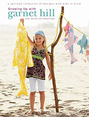 Picture of Garnet Hill kids from Growing Up with Garnet Hill catalog