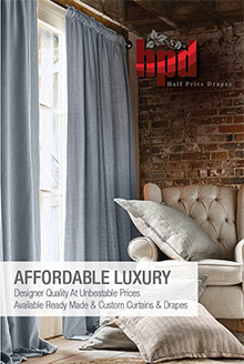 Picture of discount drapes and curtains from Half Price Drapes catalog