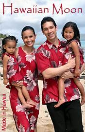 Picture of Hawaiian clothing from Hawaiian Moon Clothing Company catalog