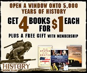Picture of civil war books from History Book Club® catalog