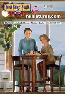 Hobby Builders Supply Dollhouse Miniatures Catalog