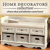 Image of sitting storage bench from Home Decorators Collection - OLD catalog