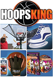 Picture of basketball drills from Hoops King catalog