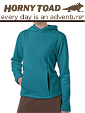 Image of fleece hoodies  from Horny Toad Activewear catalog