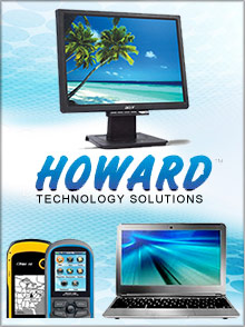Picture of computers and accessories from Howard Computers catalog